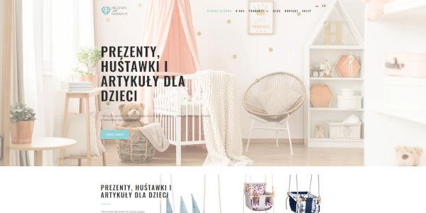prezentyjakdiamenty.pl - widok strony głównej